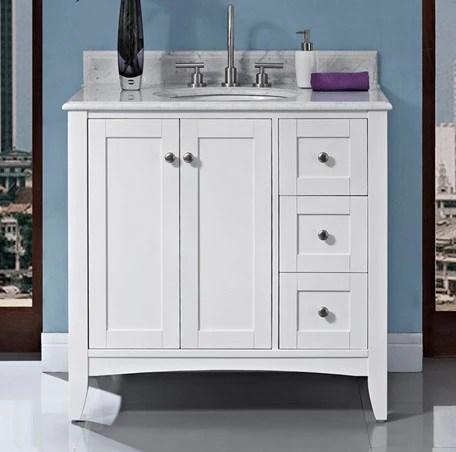 fairmont bathroom vanity shaker americana double sink – canaroma