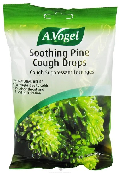 Vogel Cough Drops Soothing Pine - 16 CT – Nature & Herbs
