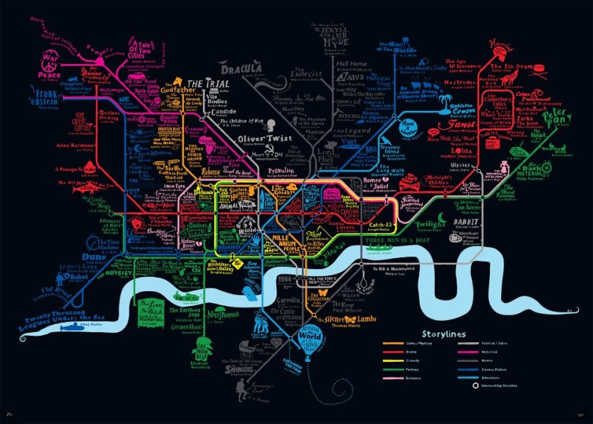 Storylines London Tube Map   Dex   Folly   Muse     Storylines London Tube Map   Dex