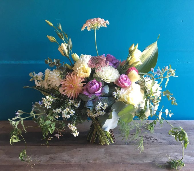 Local grown  handmade  bike delivered flower and gift boutique The
