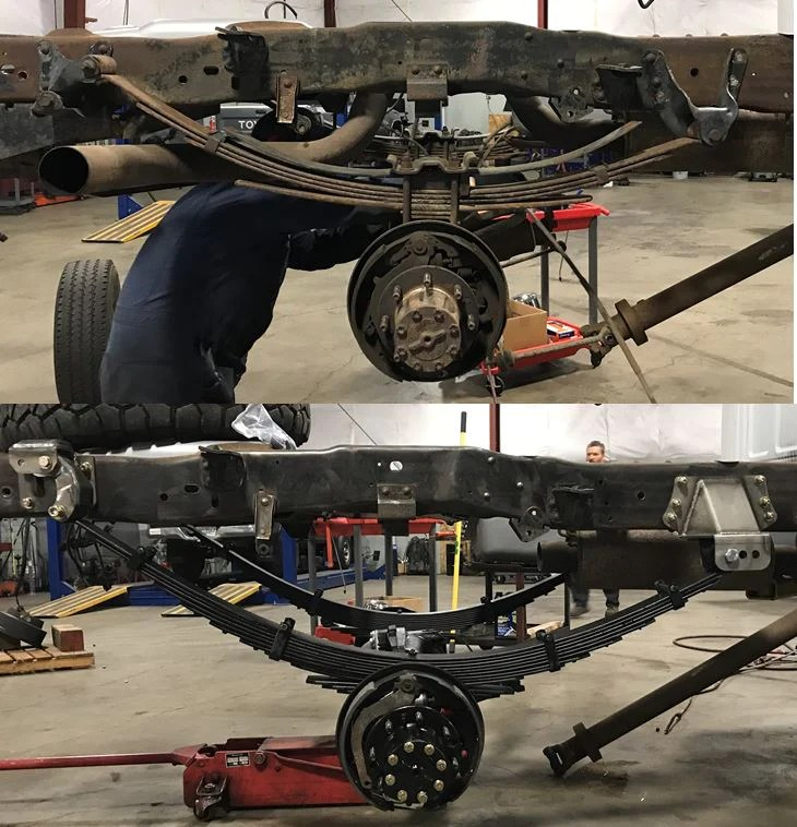 Suspension 91 Ford Front F 150 Parts