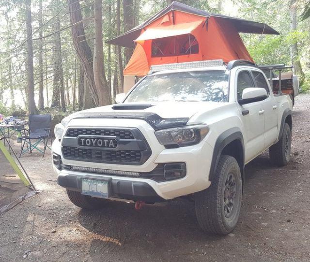 05 15 Toyota Tacoma 40 Curved Roof Rack Light Bar Kit