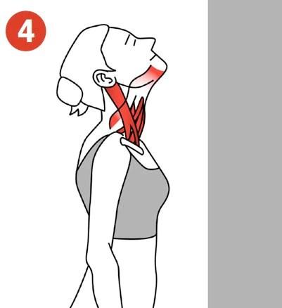 throat stretch