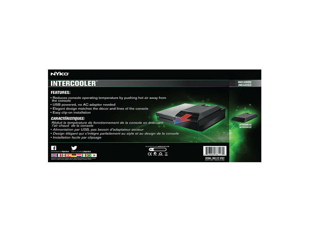 Intercooler For Xbox One Nyko Technologies