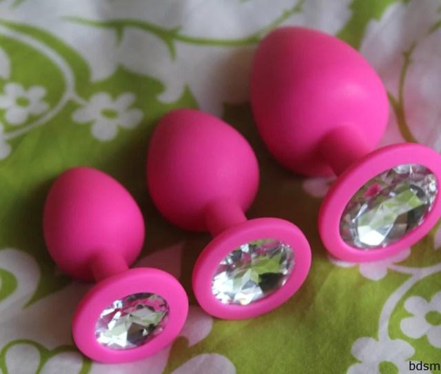 Silicone Princess Plug Bundle Pink Clear Bdsmgeek Shop 1