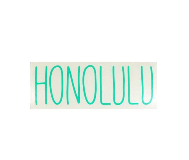 Honolulu Skinny Diecut Sticker