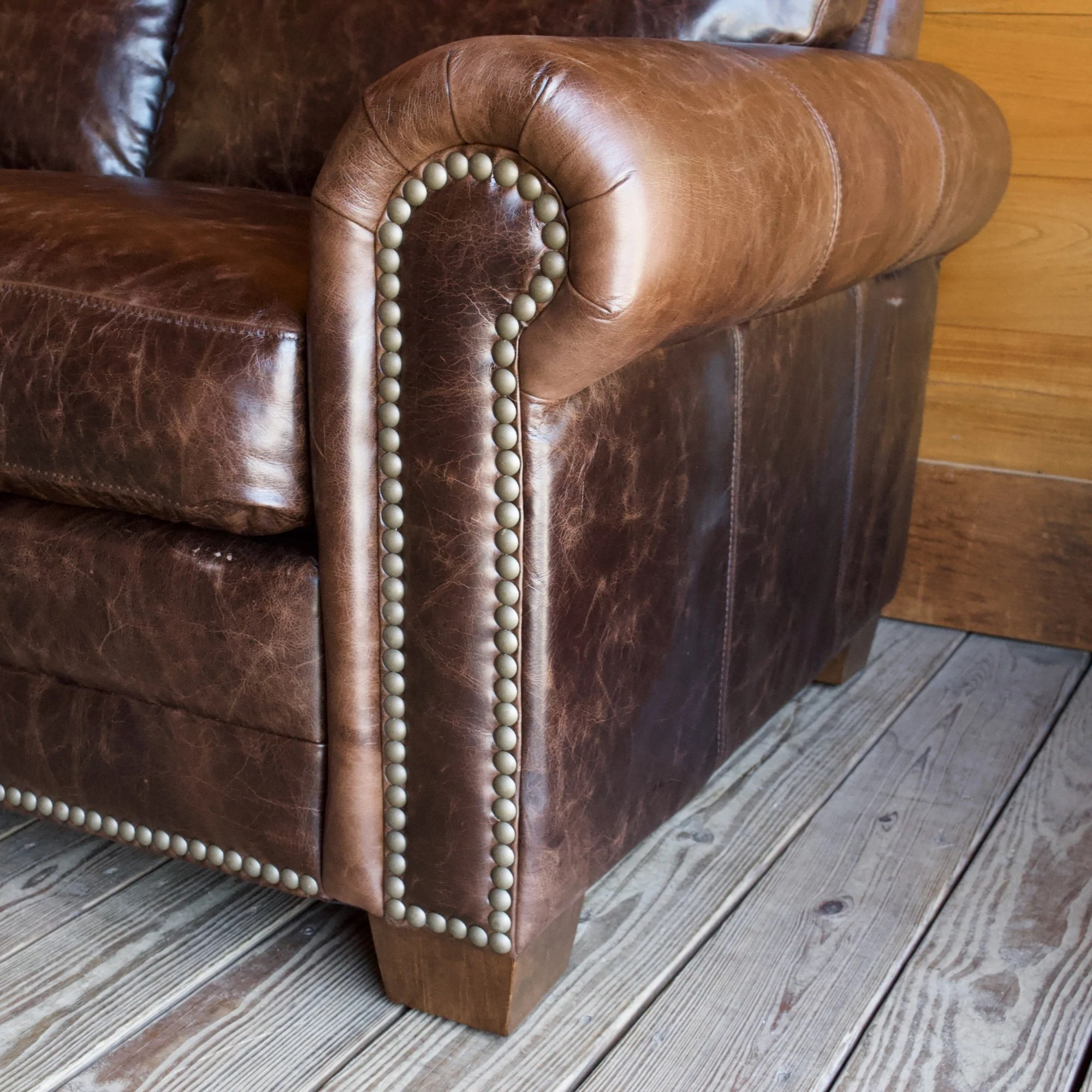 follensby leather sofa