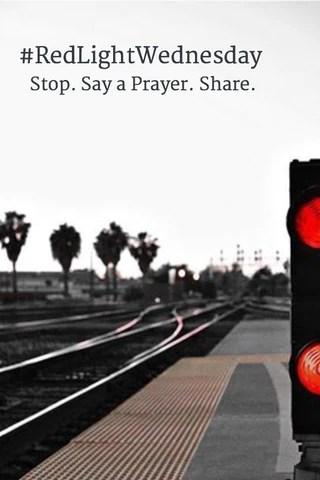 #redlightwednesday sudara human trafficking awareness month