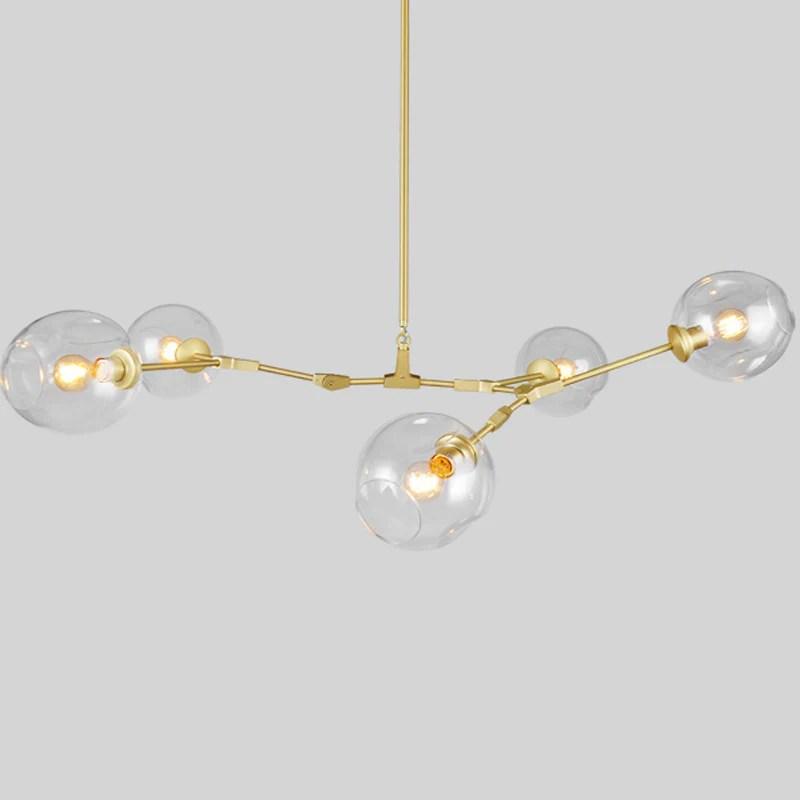 lindsey adelman 5 lights bubble chandelier pl513 5