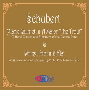 """Schubert: Piano Quintet in A Major """"The Trout"""" & String ..."""
