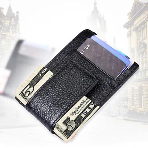 Money Clip with RFID Safe Wallet – VistaShops