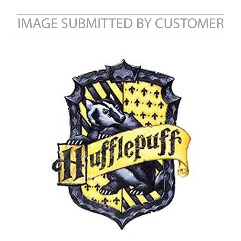Custom Hufflepuff Crest Pinata Party Pinatas