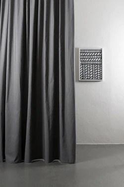 azura grey cotton linen curtains 300cm 118 extra wide 007