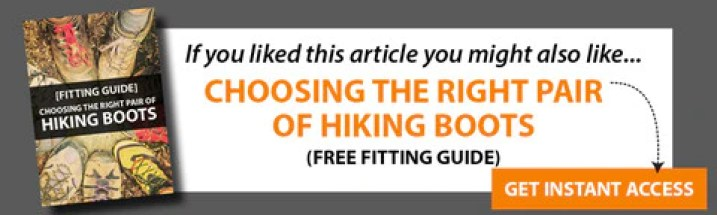 hiking boots fitting guide