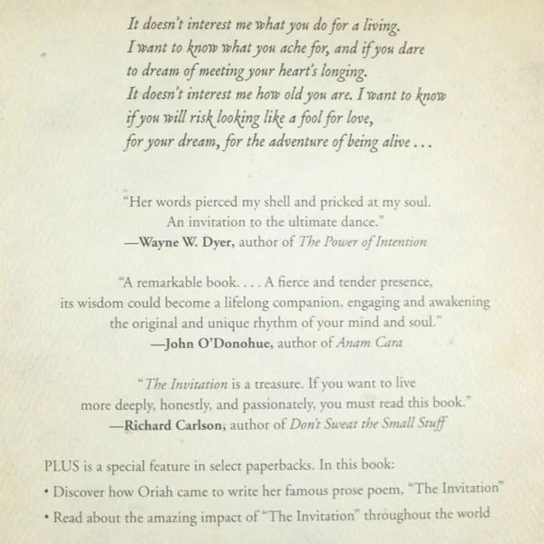 poem the invitation by oriah Invitationjpgcom