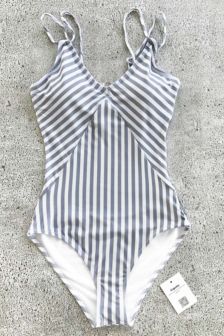 All about Stripe One-piece Swimsuit