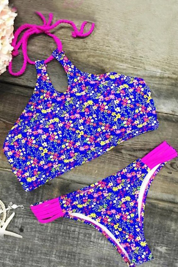 Cupshe Ever So Lovely Floral Print Swimsuit