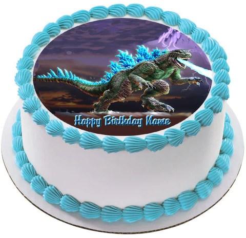 Godzilla Edible Cake Topper Amp Cupcake Toppers Edible