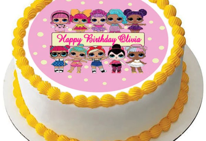 Lol Suprise Dolls Nr2 Edible Cake Topper Or Cupcake Toppers