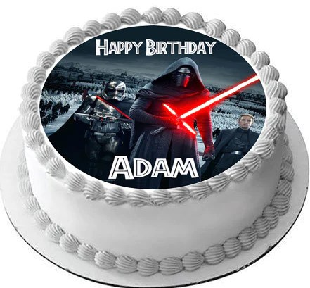 Star Wars 7 Force Awakens 1 Edible Cake Topper Amp Cupcake