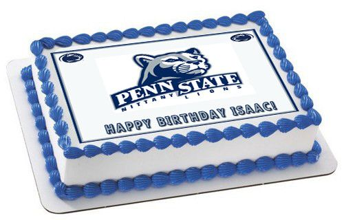 Penn State Nittany Lions Edible Cake Or Cupcake Topper