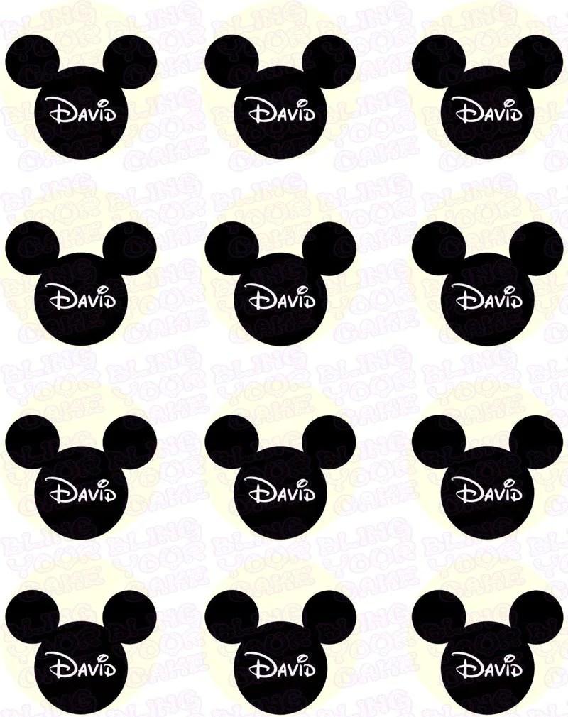 Disney Mickey Mouse Edible Sheet
