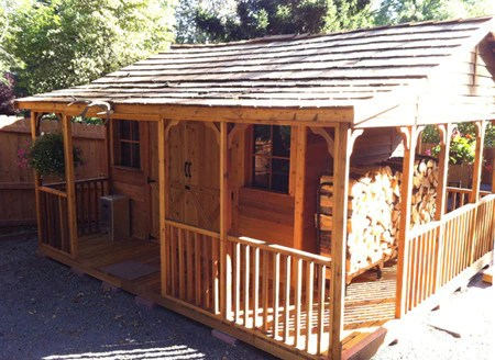 Farmhouse Sheds Home Office Shed Kits Garden Room
