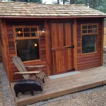 Small Cabin Kits For Sale Diy Prefab Shed Cabins Cedarshed Canada