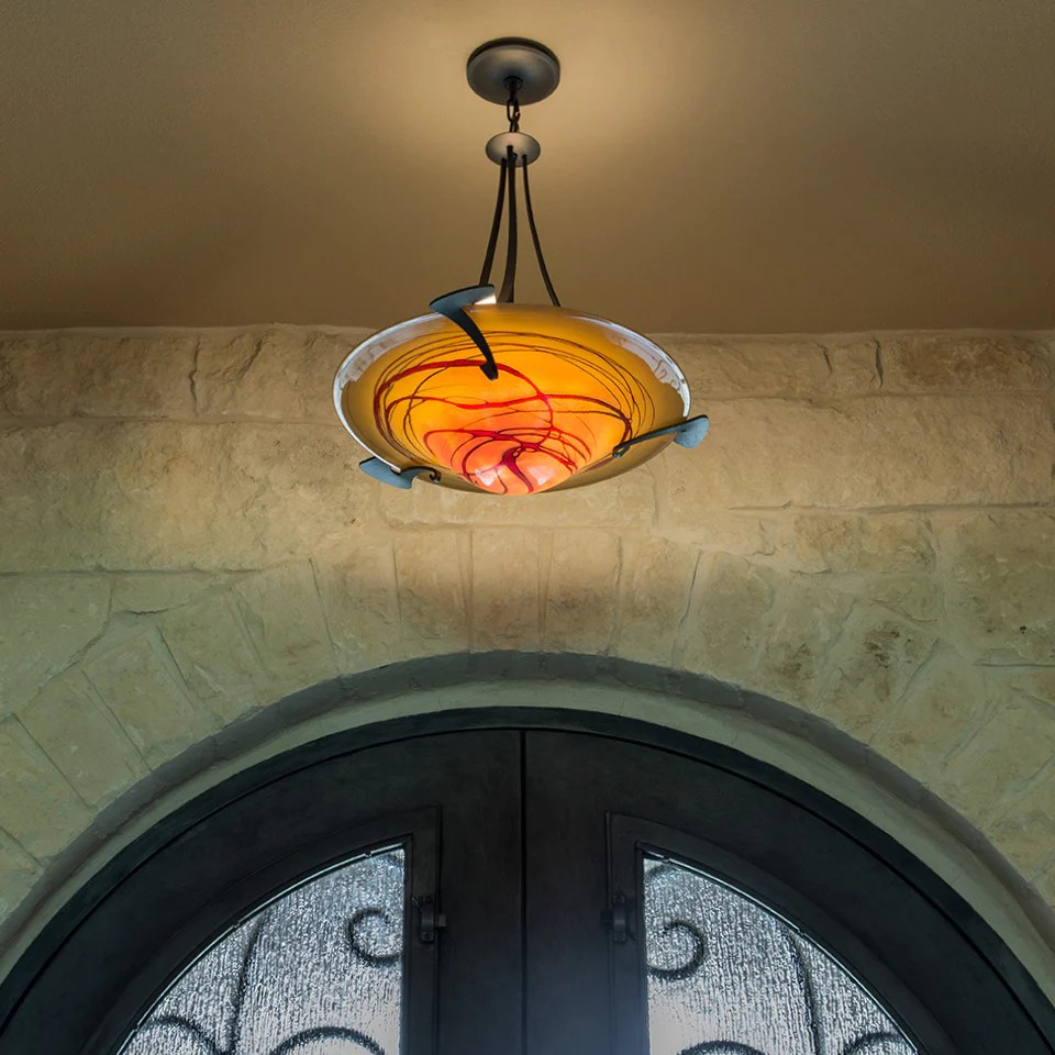 art glass lighting image gallery