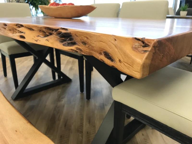 table de cuisine en acacia 2 1 4 enora 000932