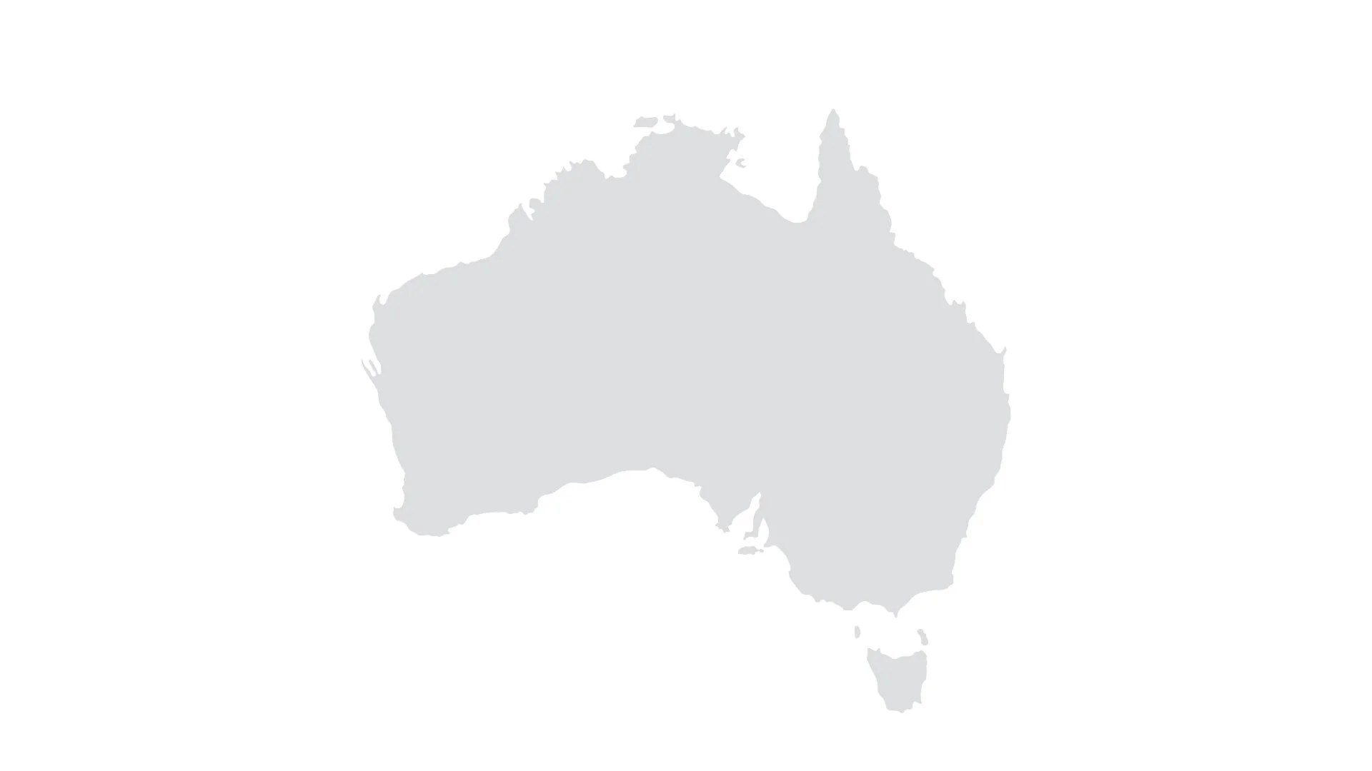 Australia Map for PowerPoint   Keynote   Presentation Shop     Maps   Australia Map for PowerPoint