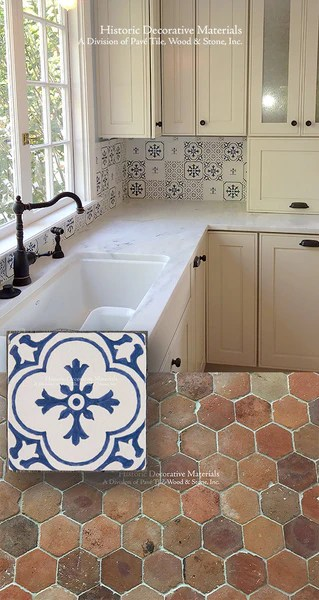 vintage wall tile collection look book