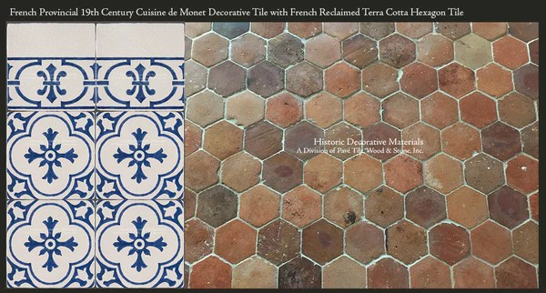 The Provincial Charm Of French Reclaimed Terra Cotta Tiles
