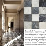 Antique Black And White Nero Bianco Carrara Marble Checkered Stone Floors Historic Decorative Materials A Division Of Pave Tile Wood Stone Inc