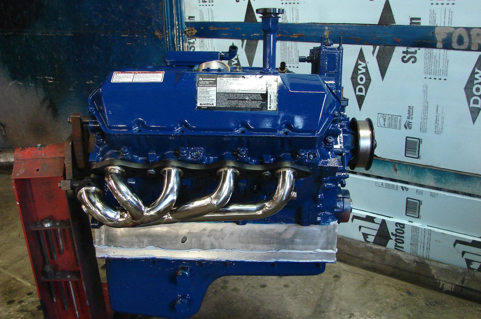 csd 7 3 exhaust headers carson