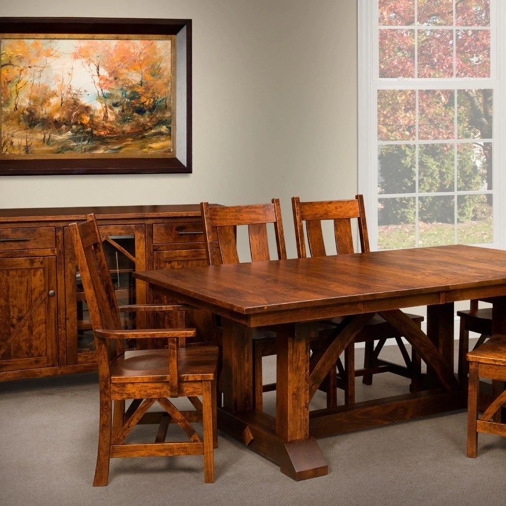 Amish Dining Room Tables And Chairs