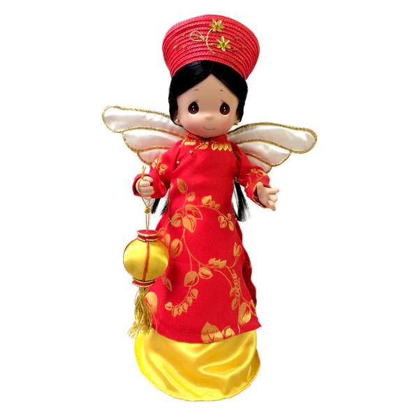 Precious Moments Vietnamese Angel Tree Topper Huong From