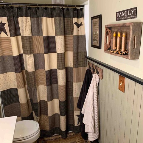 10 primitive shower curtains to use in