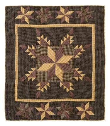 The Lemoyne Star Quilt Pattern Originated In France Or