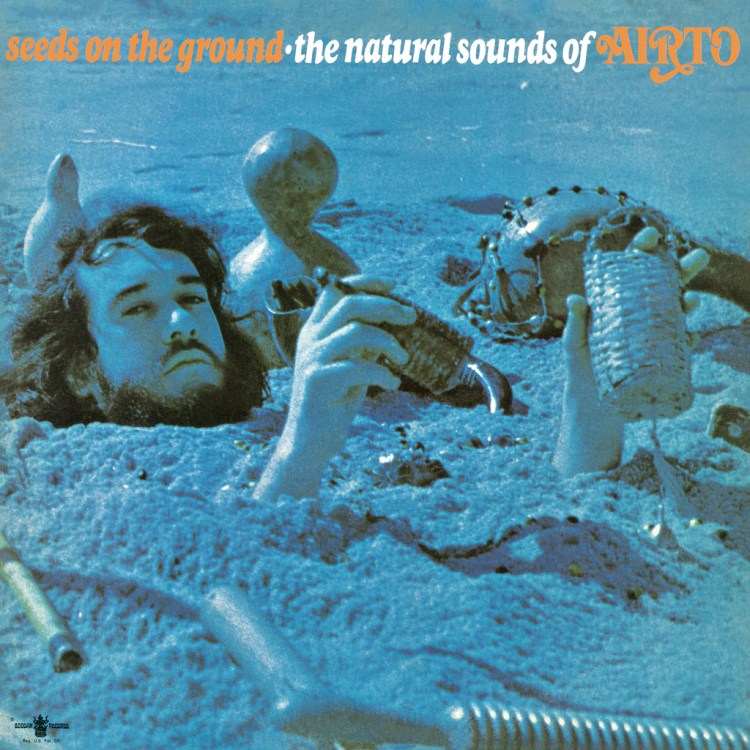 Image result for real gone music record label Airto: Seeds on the Ground