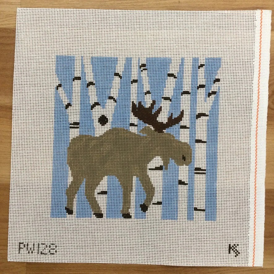 needlepoint pillow canvases kc