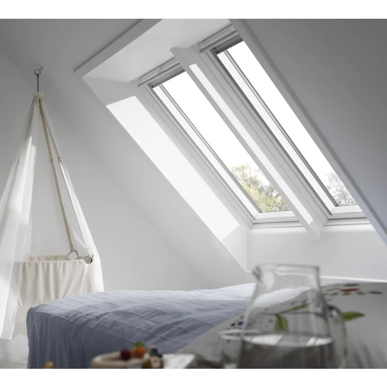 velux ggl sk06 2070 white painted