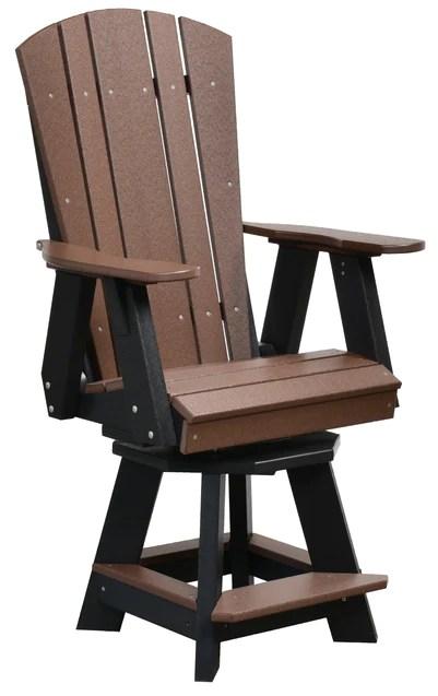 wildridge heritage outdoor bar height balcony swivel chair lead time to ship 6 to 8 weeks