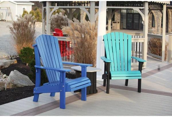 Luxcraft Senior Height Adirondack Chair Rocking Furniture