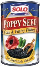 Solo Poppy Seed Filling 125oz Parthenon Foods