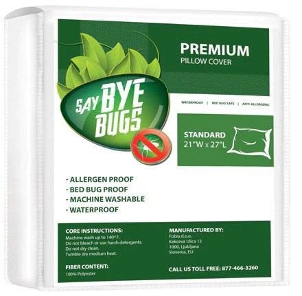 saybyebugs premium pillow cover pack