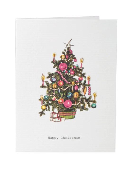 Happy Christmas Greeting Card TokyoMilk