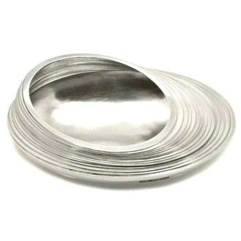 Layered Silver Bowl