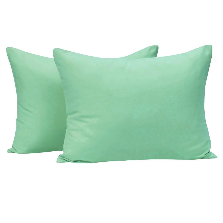 ntbay microfiber toddler pillowcases 2 pcs zipper closure travel pillow covers 13 x 18