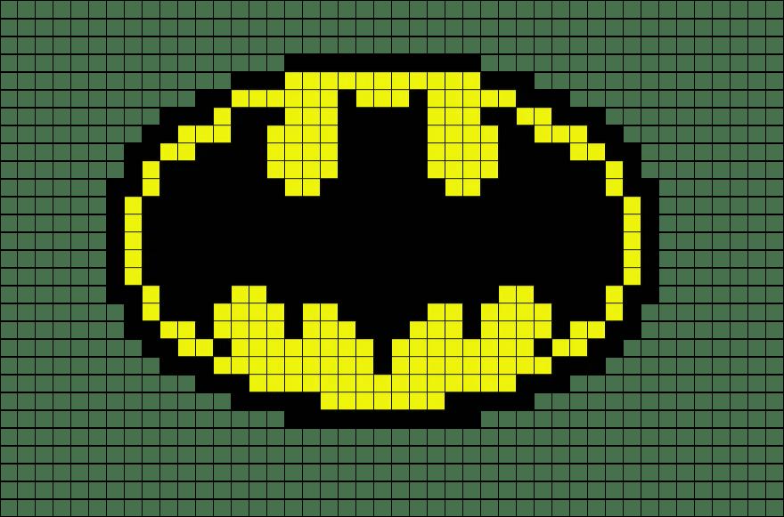 Superman S Pixel Art Templates Se7ensins Gaming Community